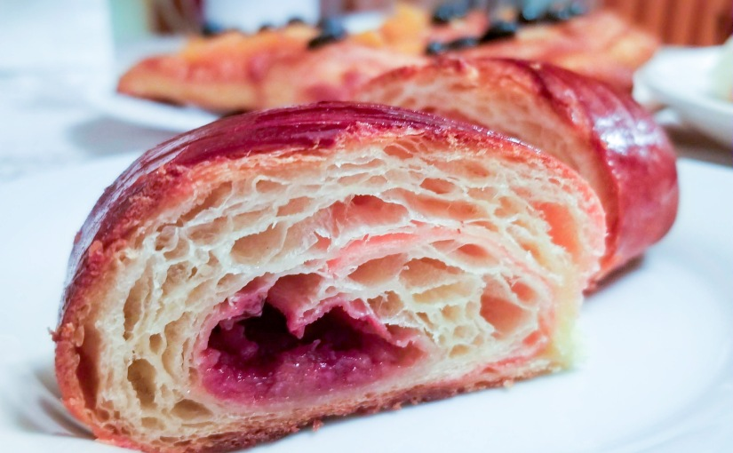 Jam filled croissants: Test2