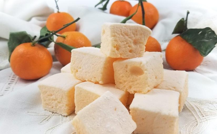 Sugar-Free Tangerine Marshmallows: Test1